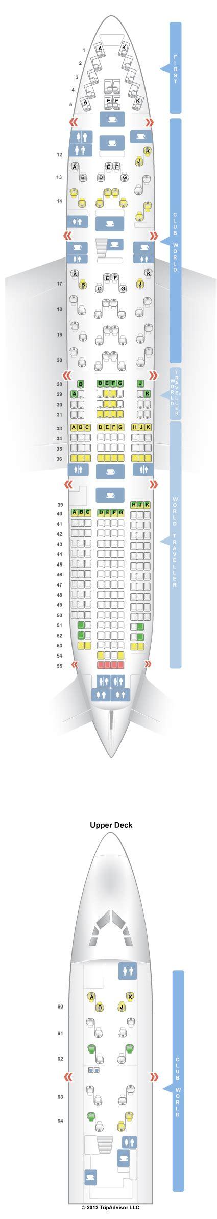 747 400 seat map boeing 747 400 seating chart airways