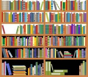 Bookshelves With Books Bookshelf With Books Stock Vector Colourbox