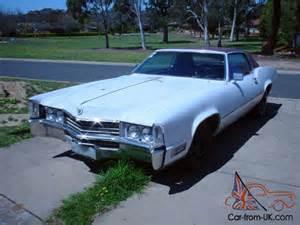 500ci Cadillac 1970 Cadillac Eldorado 8 2l 500ci V8 Project 2 Door