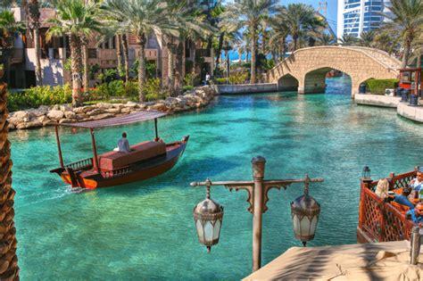 madinat jumeirah boat ride our favorite shopping spots in dubai souk madinat