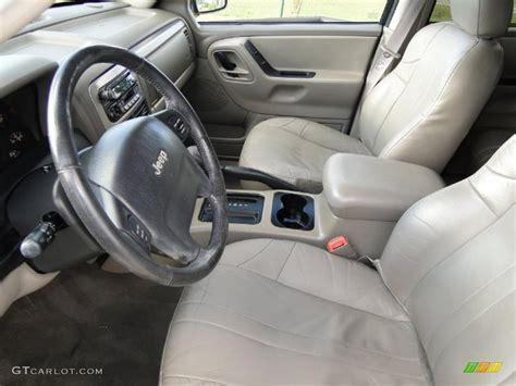 2002 Jeep Grand Interior by Slate Gray Interior 2002 Jeep Grand Laredo