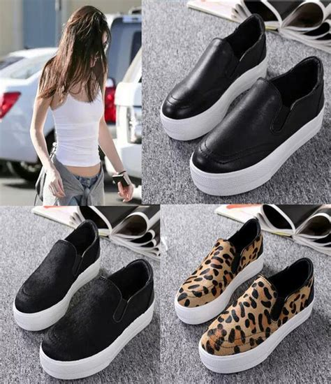 sneakers s fashion 100 real photos genuine leather ash jungle slip on