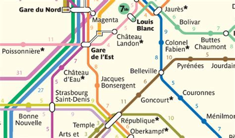Plan Creator paris metro map shows it may be quicker to walk the local
