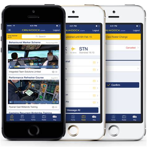ryanair mobile ryanair crewdock mobile app on behance