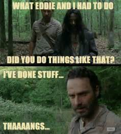 Walking Dead Stuff And Things Meme - the walking dead memes