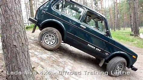 Lada Offroad Lada Niva 4x4 Offroad Beim Adac In Linthe