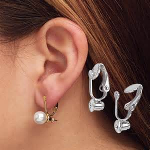 how to convert clip on earrings to pierced clip on earrings converter earring converter walter