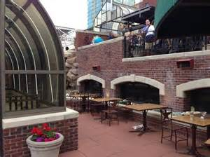 the roof top bar and tables picture of reata restaurant