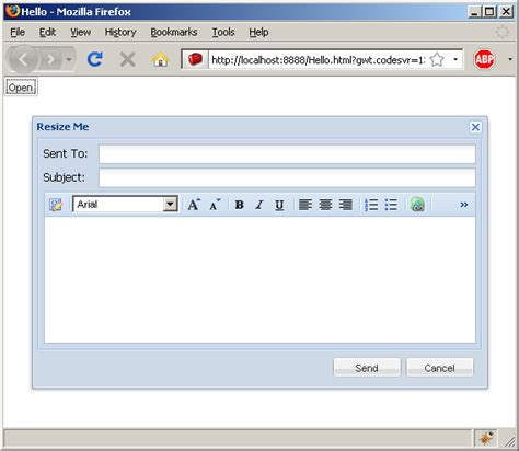 design text editor in java using htmleditor to do rich text editing ext gwt