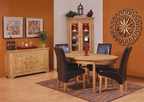 linden oak dining room furniture extending dining table ebay