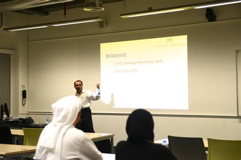 Koc Tech Mba by Gust Mba Hosts Koc Engineer For Presentation On Process
