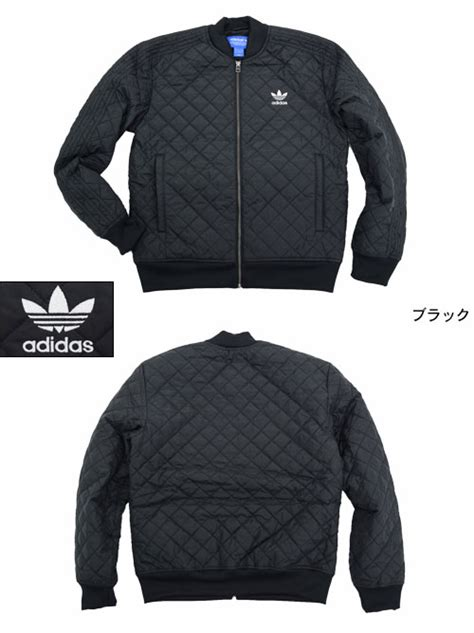 Jaket Pria Korea Adidas Justien Black field rakuten global market adidas adidas jacket s quilted track top black