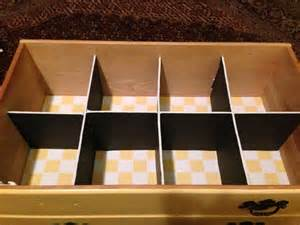 diy drawer dividers foam board 1 each at dollar store
