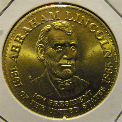 abraham lincoln gold coin abraham lincoln commemorative coin shell president medal