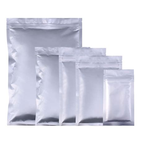 variety of sizes 100pcs heavy duty silver flat metallic