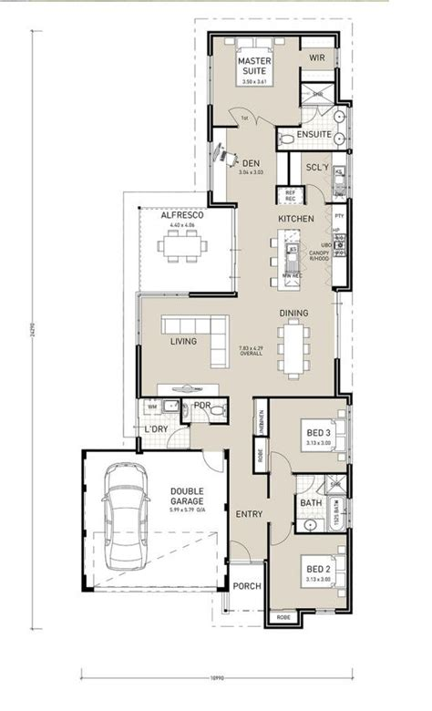 narrow block house plans the avalon narrow block plan home builder in perth