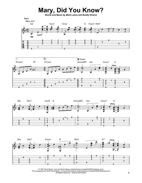 printable lyrics mary did you know mary did you know sheet music direct
