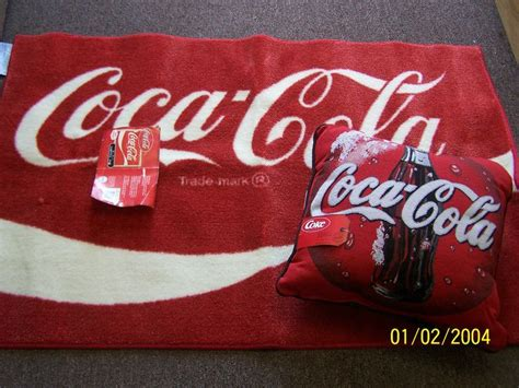 coke rug coca cola scatter rug tapestry pillow