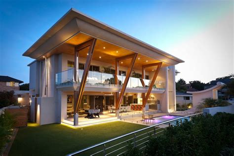 architecture homes visually striking applecross house showcasing large roof
