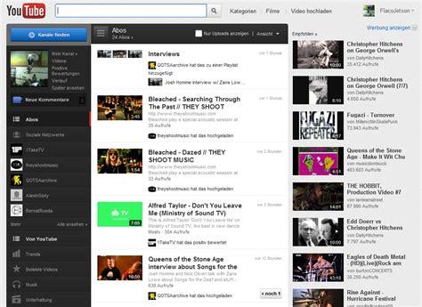 visitor pattern youtube neues youtube design schon jetzt testen