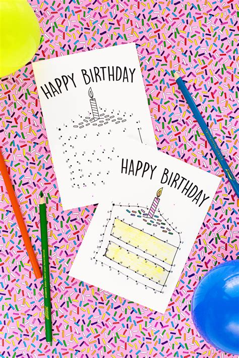 printable birthday cards for a teenage girl free printable birthday cards for kids studio diy