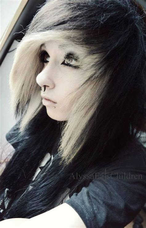 emo hairstyles black and white alyssa eats children via facebook image 785987 by