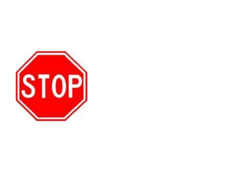 free templates for signs stop sign template printable clipart best