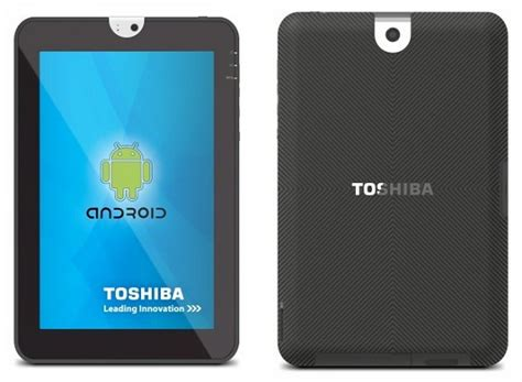 Tablet 10 Inch Toshiba toshiba 10 inch android tablet coming soon the tech journal