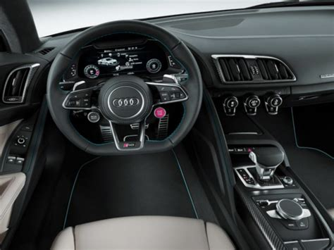 Audi R8 White With Interior by 2016 Audi R8 V10 Review