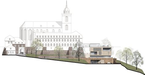 ansicht architektur ohne pr 228 fix siegburg umbau ex benediktinerabtei