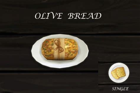 Custom Food olive bread custom food by icemunmun at tsr 187 sims 4 updates
