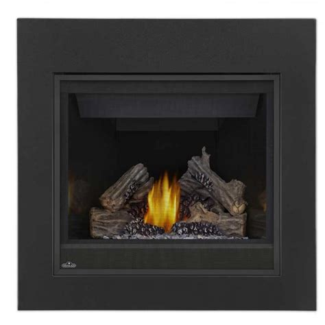 Top Vent Gas Fireplace by Napoleon B36ntr Ascent 36 Gas Top Rear Vent