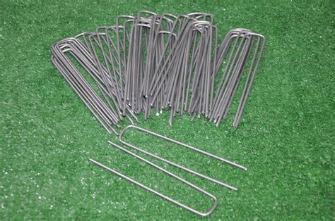 Landscape Pins 75 Sod Staples Landscape Anchor Pins For Above Ground