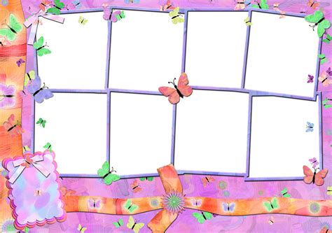 cornici html butterflies free printable frames borders and labels