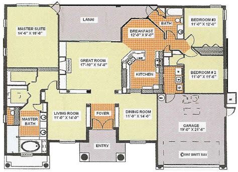 3 car garage floor plans tuscany florida model floor plans 3 bedroom 2 bath 2