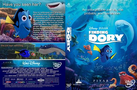 Where To Find Covers Finding Dory Dvd Cover 2016 R1 Custom