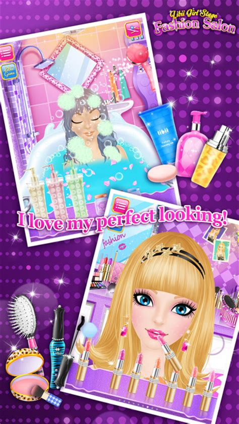 makeover games app store fashion salon girls makeup dressup and makeover games