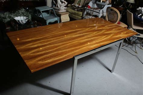 pace zebra wood dining table at 1stdibs
