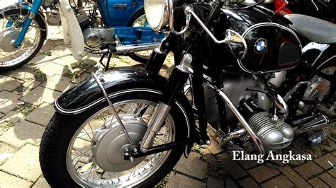 penampakan motor klasik bmw rs  tumplekblek  youtube