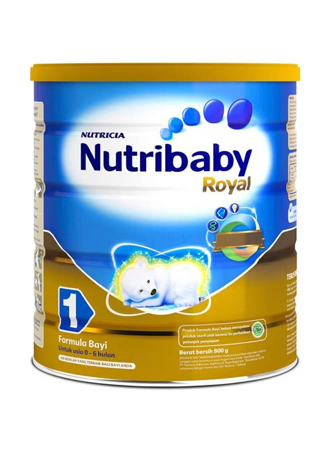 Nutrilon Royal 1 nutricia nutrilon 1 royal klg 800g klikindomaret