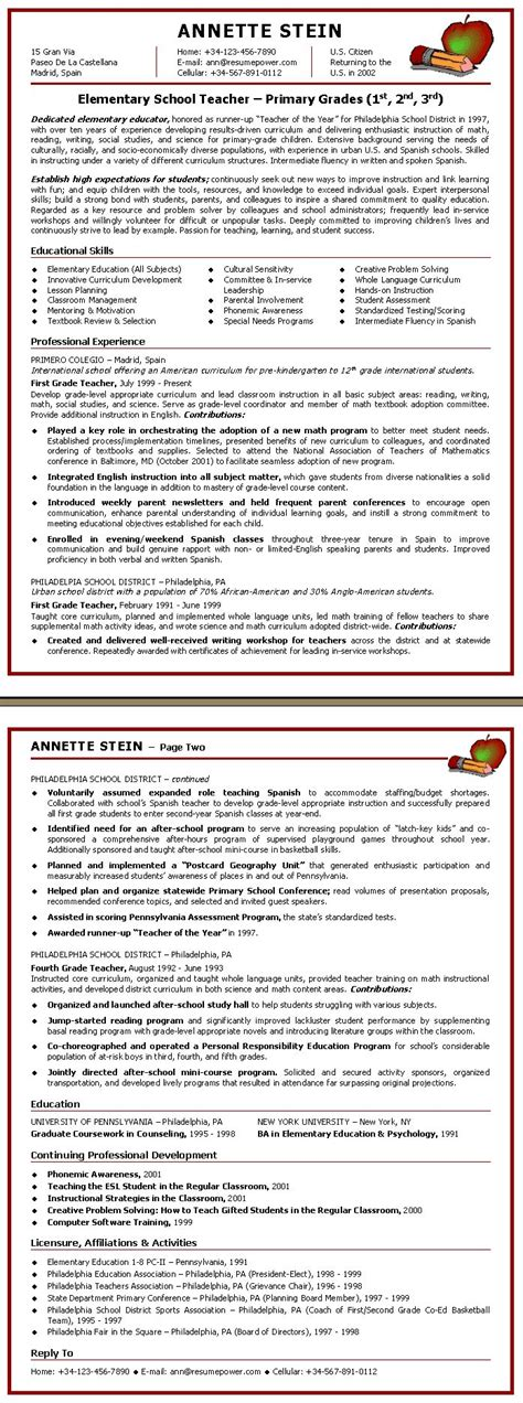 25 best ideas about resumes on teaching resume for teachers and