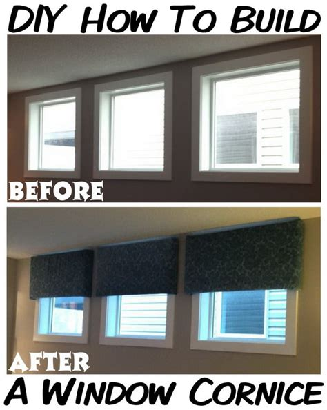 How To Build A Cornice Window Treatments how to make your own diy cornice window treatment for less than 20 dollars removeandreplace