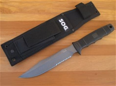 survival knives review sog seal team best survival knife review