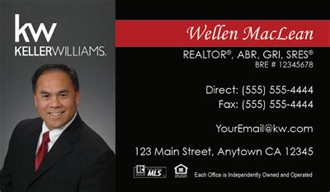 https www realty cards order template klr39a html keller williams business cards 69 99 professionally