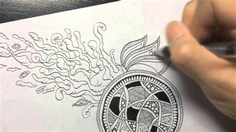 how to use engine 6 3 on doodle dug highspeed creepy doodle zentangle