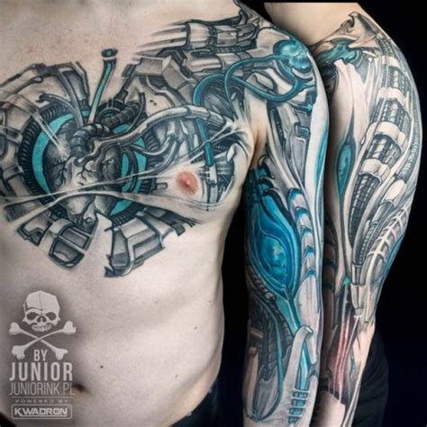 biomechanical heart tattoo biomechanical best ideas gallery