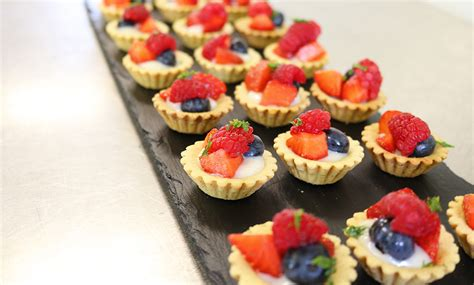 fruit canapes canapes gold leaf catering