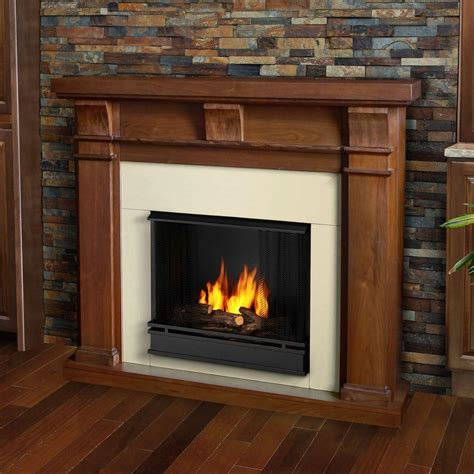 ventless gel fuel fireplace real porter 50 in ventless gel fuel fireplace in