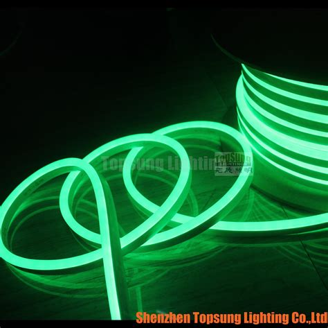 ultra thin 8 16mm christmas decoration led flexible neon