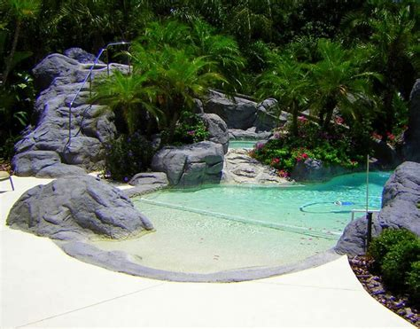 small inground pools inground pools small yards florida home landscaping